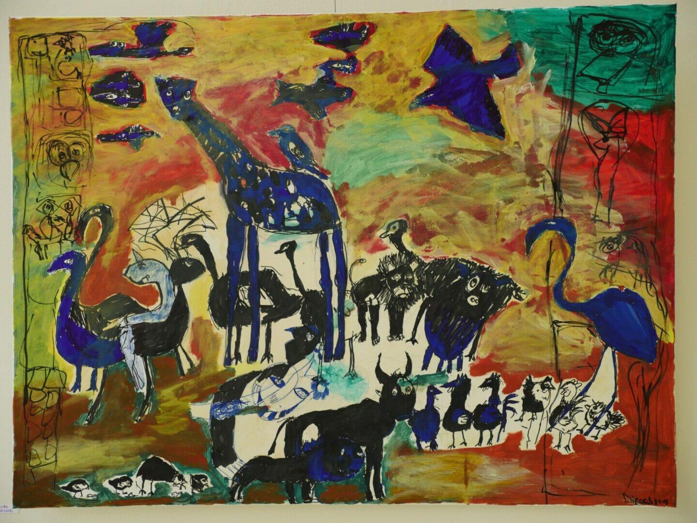 DiegoB Baglioni-Noah's ark (2014)-Jungle in the city-Breed Art Studios Amsterdam