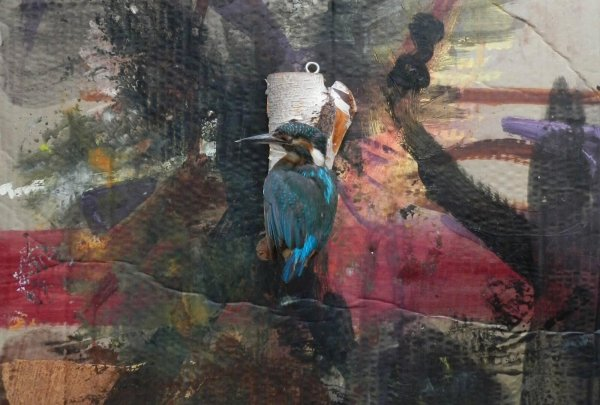 Ronald Berning and Jacqueline Lamme IKB international Kingfisher Blue at Breed Art Studios