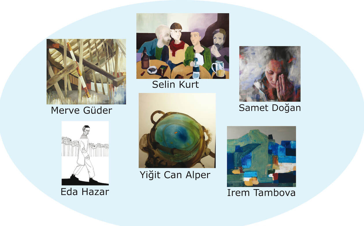 6 turkish artists @ Breed Art Studios, Amsterdam