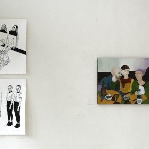 Eda Hazar, Selin Kurt @ Breed Art Studios Amsterdam