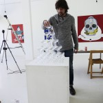 "Making of Alexandre Madureira ""The Marriage' @ Breed Art Studios, Amsterdam"