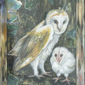 Jacqueline-Lamme-Kerkuil-(Barn-owl)-@-Breed-Art-Studios