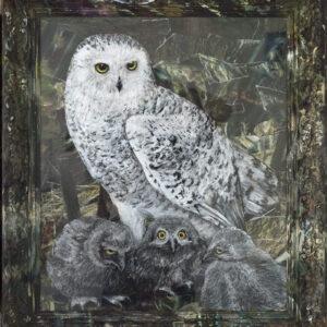 Jacqueline-Lamme-Sneewuil-1-_-Snowy-owl-1-@-Breed-Art-Studios