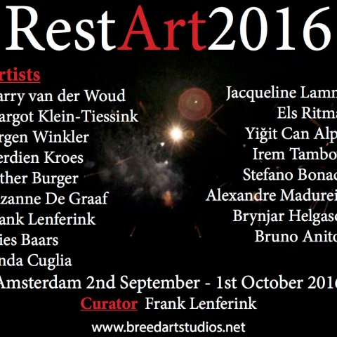 RestArt 2016 @ Breed Art Studios, Amsterdam