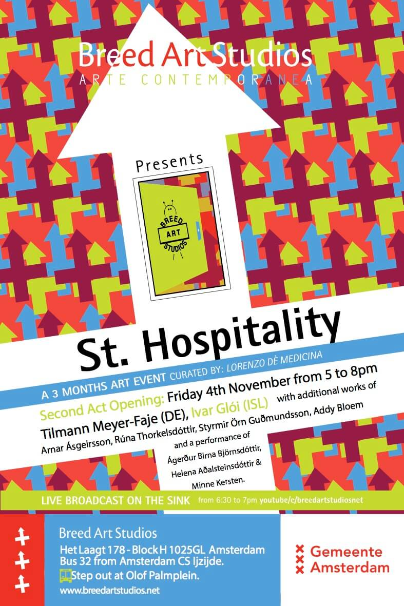 St Hospitality ACT 2 @ Breed Art Studios