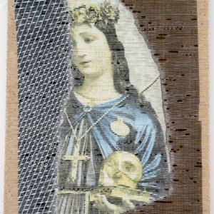 Esther Burger-Santa Rosalia -no-1-3-Madonne ed Altro @ Breed Art Studios