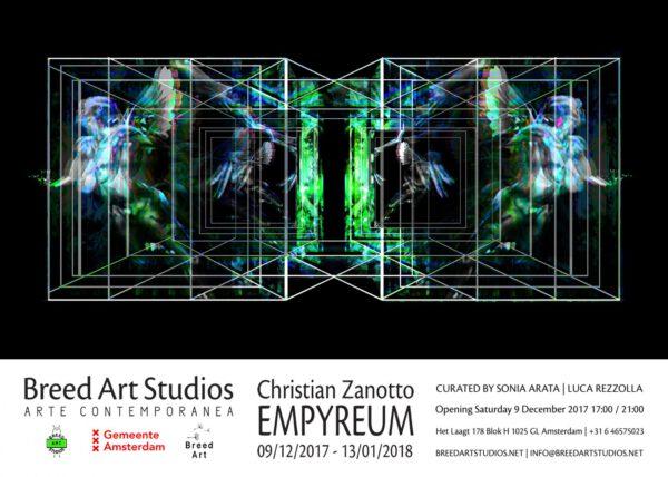 Christian Zanotto EMPYREUM @ Breedartstudios