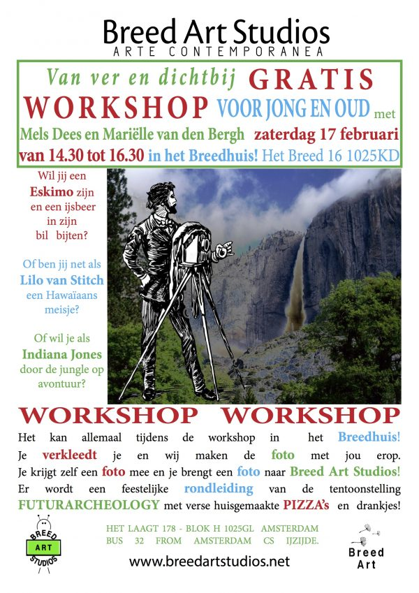 Workshop van ver at Breed Art Studios