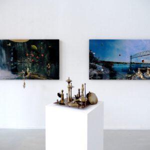 Mels Dees FUTURARCHEOLOGY @ Breed Art Studios