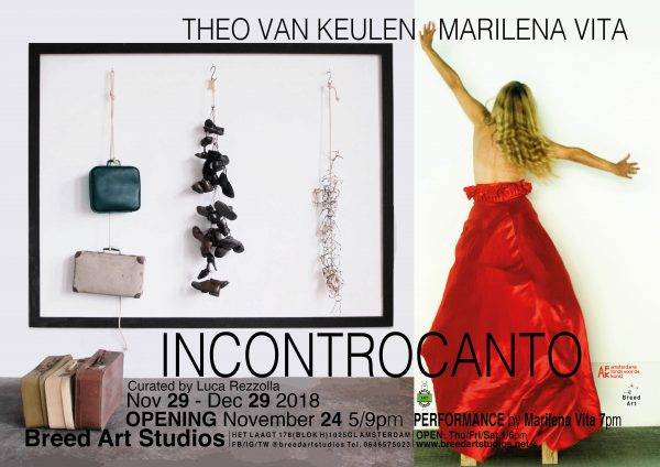 Theo van Keulen, Marilena Vita - INCONTROCANTO at Breed Art Studios