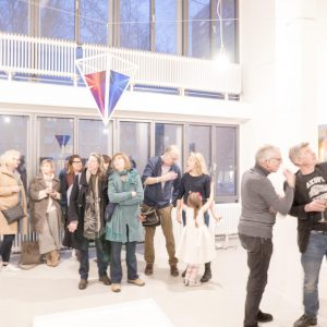 Opening FLUSSOFLUIDO at Breed Art Studios Amsterdam