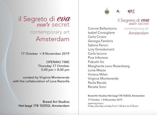 il segreto di Eva- at Breed Art Studios Amsterdam