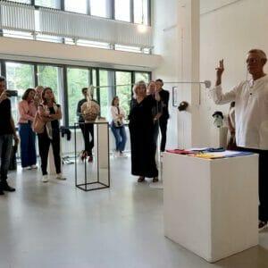 Opening Il Respiro dell'Arte, Breed Art Studios Ed. II, Amsterdam_Roberto Rossini